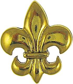 product image for Jim Clift Design Fleur de Lis Gold Lapel Pin