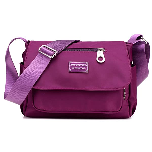 Women's Small Messenger Style Crossbody Bag / Purse, for Office ...
