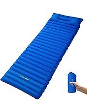 Aufblasbare Foam Selbstaufblasbar,mit Kissen Isomatten & Matratzen Zenph Camping Luftmatratze Schlafausrüstung