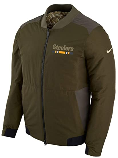 wholesale dealer f437e d1b01 Amazon.com : Pittsburgh Steelers Nike NFL Salute to Service ...