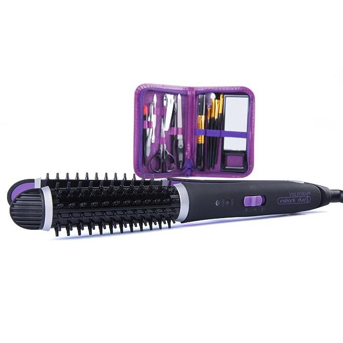 cepillo y placa calefactora 2 in 1 - Velform Instant Duo: Amazon.es: Hogar
