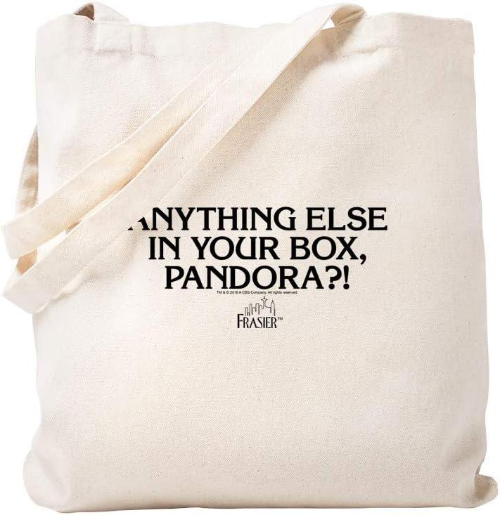 CafePress – Frasier: La caja de Pandora – Gamuza de bolsa de lona ...