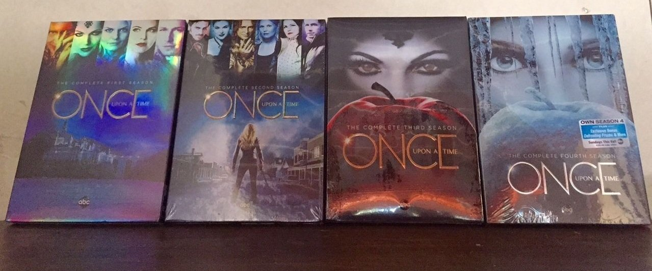 Once Upon a Time : Complete Four Seasons 1 - 4 Collection (20-Disc, DVD, 2015)