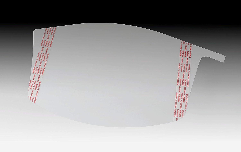 3M Versaflo 37452-case Peel-Off Visor Covers M-928/37452(AAD), for M-927 Premium Visor, 40 EA/Case, Clear (Pack of 40)