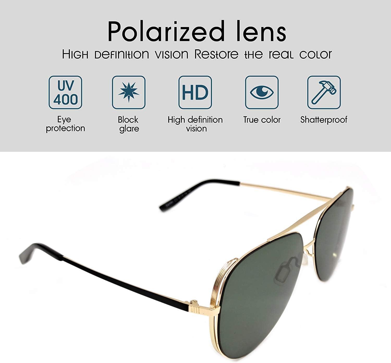 Accessories IOOI Polarized Sunglasses Unisex Fashion for Men and ...