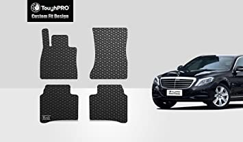 Amazon Com Toughpro Floor Mat Accessories Set Front Row 2nd Row Compatible With Mercedes Benz S450 S550 All Weather Heavy Duty Made In Usa Black Rubber 2014 2015 2016 2017 2018 2019 2020 Automotive