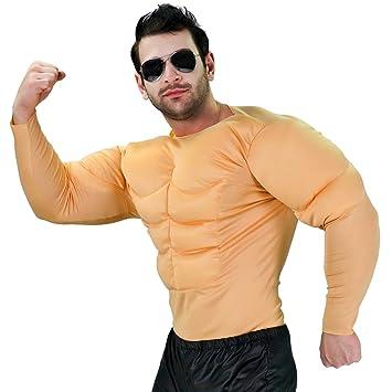 SEA HARE Disfraz de músculo Adulto para Hombres: Amazon.es ...