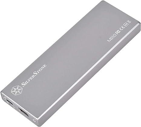 Silverstone SST-MS10C - Caja SSD Externa SATA M.2, USB 3.1 Gen 2 ...