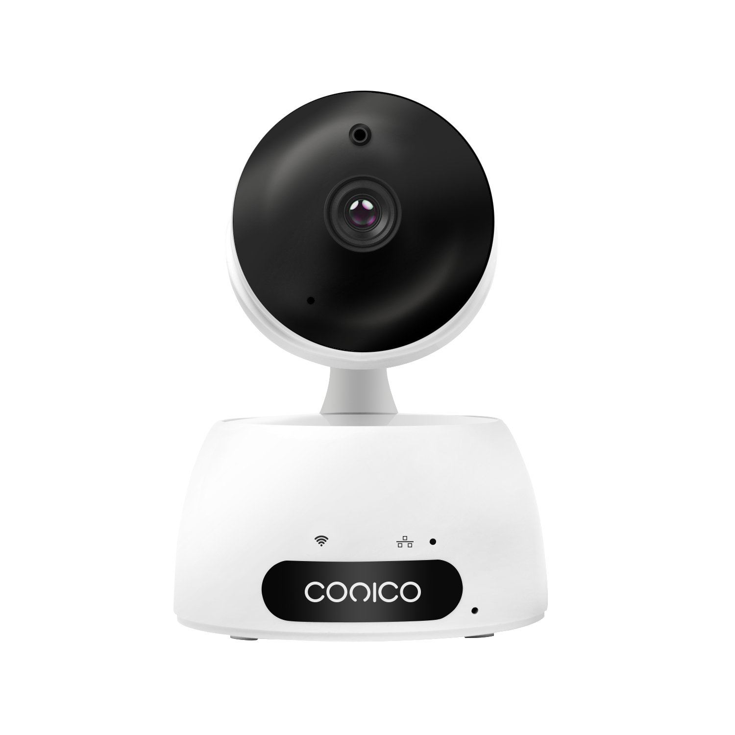Wireless Camera, 720p Conico WiFi Video Baby Monitor Home Security Surveillance Indoor Camera Provides Two Way Audio Pan&Tilt Remote Viewing Reliable Night Vision Real Time Motion Alerts