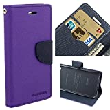 JMD Fancy Diary Wallet Flip Cover Case For Samsung Galaxy A5-6 / A5 (2016 Edition) (Purple)