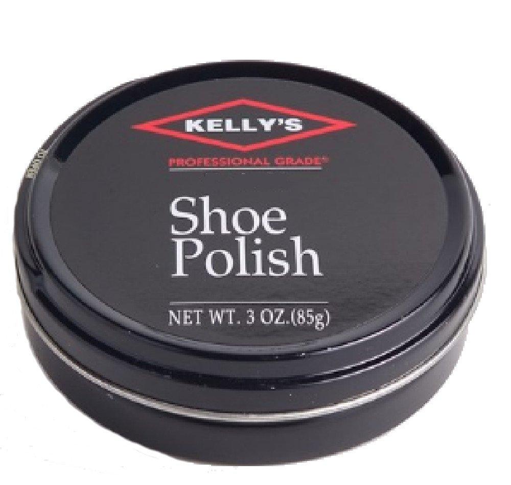 Kelly's Professional Grade Shoe Polish (Black/Brown)