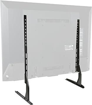 Mount Factory - Soporte de TV de mesa moderno para pantalla plana universal de repuesto para pantallas de 24