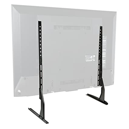 926d42d379f Amazon.com  Mount Factory Modern Tabletop TV Stand - Universal Flat Screen  Base Replacement for 24
