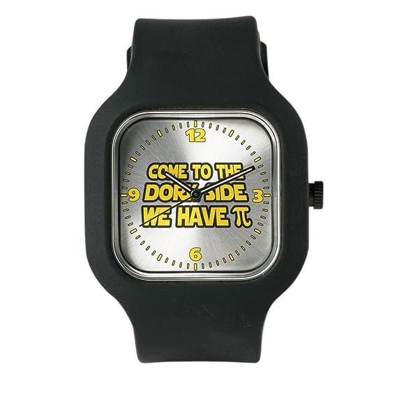 Negro Fashion Sport reloj Come a la Dork lado tenemos Pi