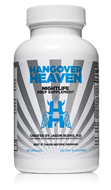 Amazon com: Highest Rated Hangover Prevention Supplement by