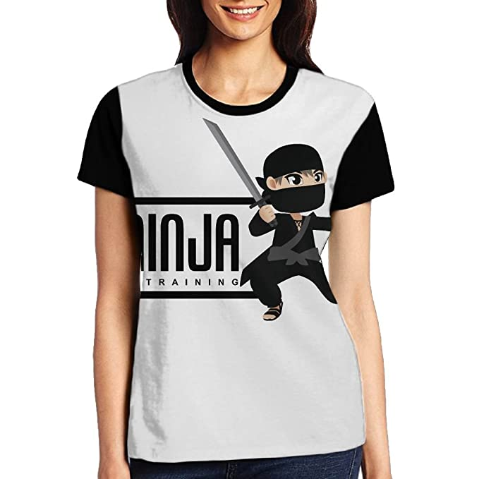Amazon.com: HSs4AD Ninja in Training Warrior Samurai Womens ...