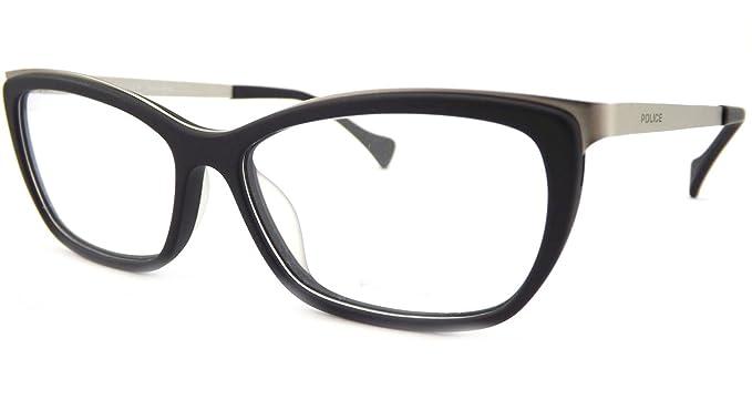 22902ab2ab6 Police - Monture de lunettes - Femme Noir Noir Medium  Amazon.fr ...