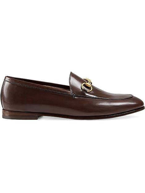 GUCCI - Mocasines Mujer, marrón (marrón), 37.5: Amazon.es: Zapatos y complementos