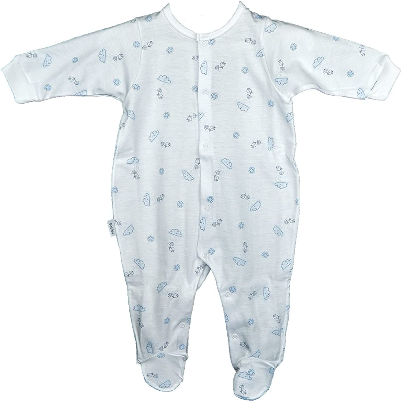 Pijama Abertura Delantera Nubes Paraguas (18 Meses, Rosa ...