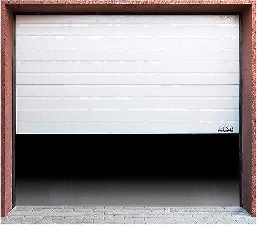 MSW - GD2375-0 - Puerta de Garaje seccional - 2375 x 2125 mm: Amazon.es: Hogar