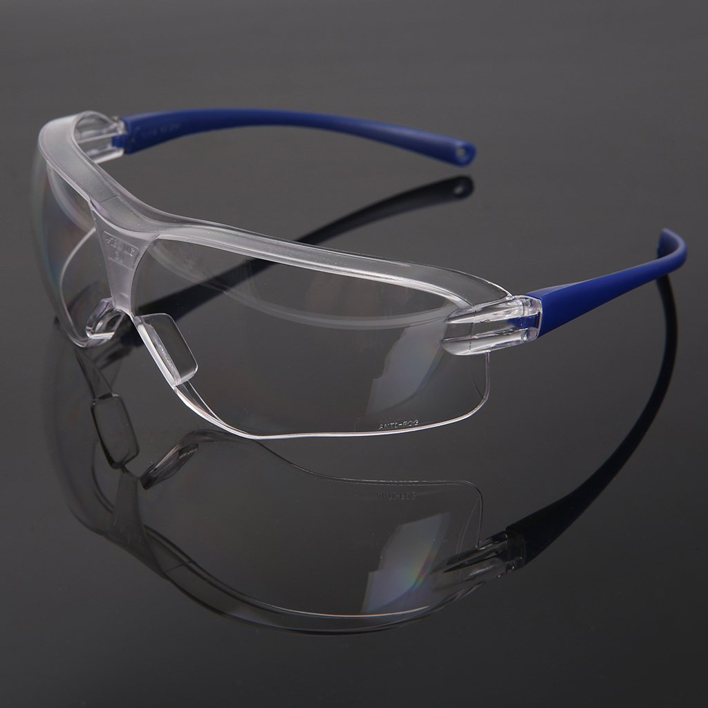 Yintiod Work Safety antisalpicaduras, protecci/ón contra el Viento Color Azul Gafas Protectoras