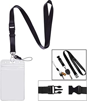 Red Teskyer Mobile Phone Strap Professional Office Lanyard Camera Strap 16 inch Neck-Lanyards for ID Cards,USB Flash Drives-8 Pack Nylon Neck Strap Lanyards with Durable Swivel Clasp for Badge