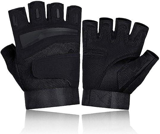 LIUF Protección Al aire libre Mitones Canotaje Medio dedo ...