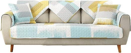 Cojín de sofá Toalla de algodón for sofá Cobertura Completa Fundas ...