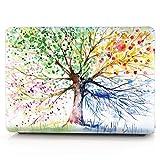 HRH 2 in 1 Watercolor Art Four Seasons Tree Laptop