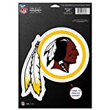 NFL Washington Redskins 83819010 Die Cut Logo Magnet, Small, Black