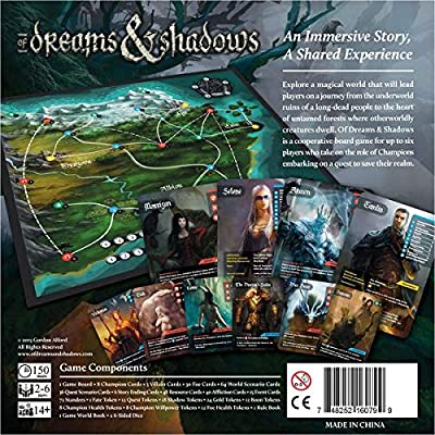 GreenBrier Games of Dreams & Shadows 2ND Edition: Toys & Games