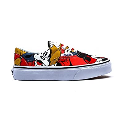 1722dc5691bd Vans x Disney Little Kids Era - Mickey   Friends (black   red)-