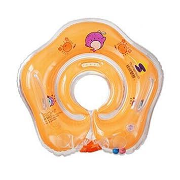 Aleta, flotador anillo inflable de PVC para bebé con correa para el hombro, rojo: Amazon.es: Deportes y aire libre