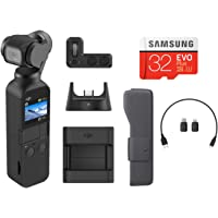 DJI Osmo Pocket 3-Axis Gimbal Stabilized Handheld Camera with DJI Expansion Kit