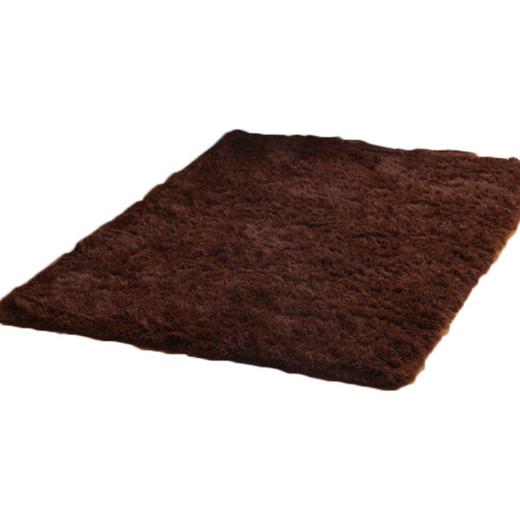 シンプルなより厚いベッドサイドブランケットリビングルームカーペットコーヒーテーブル結婚式ルームベッドルームノンスリップマットキッチンフットパッドソファーカーペットドアマットフロアマット ( カラー から゜ : D , サイズ さいず : 80*160センチメートル )   B06XT2Y1J1