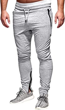 Gusspower Pantalón para Hombre, Pantalones Largos Deportivos ...