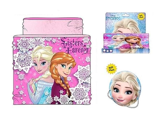 Disney Braga de Cuello Frozen Sherpa Coralina RH4032 Bufanda (Blanco)   Amazon.es  Ropa y accesorios 60380abdd8e