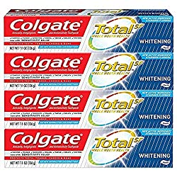 Colgate Total Whitening Toothpaste, 7.8 Ounce - 4 Pack