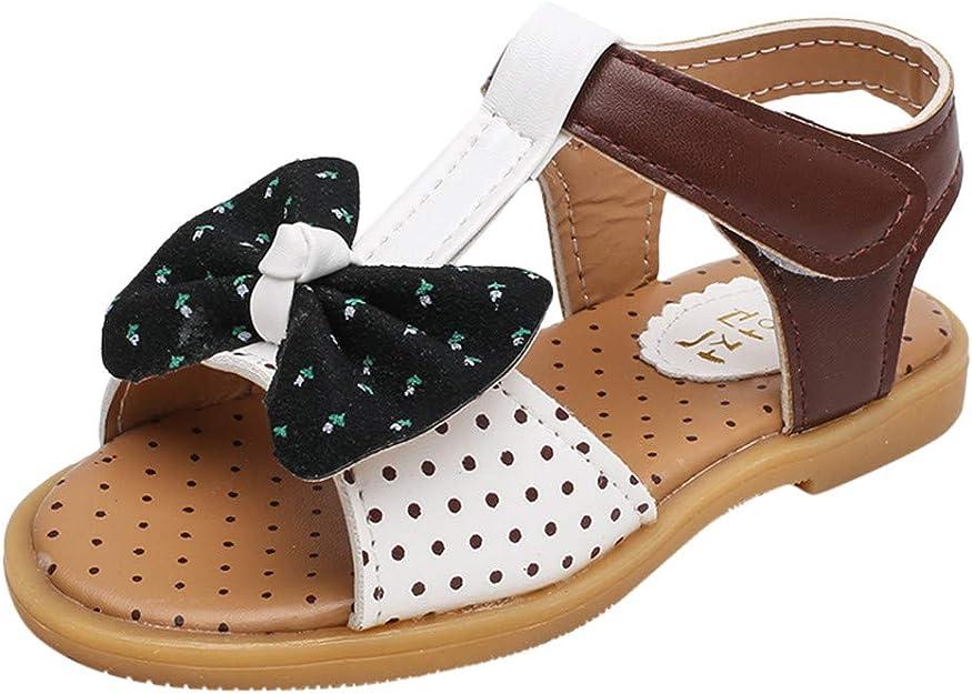 Berimaterry Sandalias Zapatos Bebe niña Verano Antideslizante 2019 Verano Playa Suela Blanda Zapatos de Princesa Elegantes Princesa Flor Casual Zapatos Solos Zapatos de Cuero pequeños Bebé Mariposa: Amazon.es: Zapatos y complementos