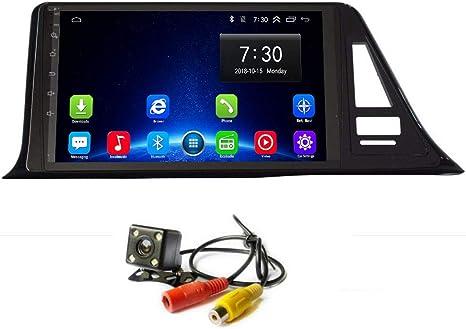 Radio de Coche Android 8.1 IPS GPS Navi para Toyota C-HR CHR C HR 2016 2017 2018 Unidad de Cabezal estéreo Reproductor de vídeo Multimedia con Bluetooth WiFi 4G USB RDS Navegación:
