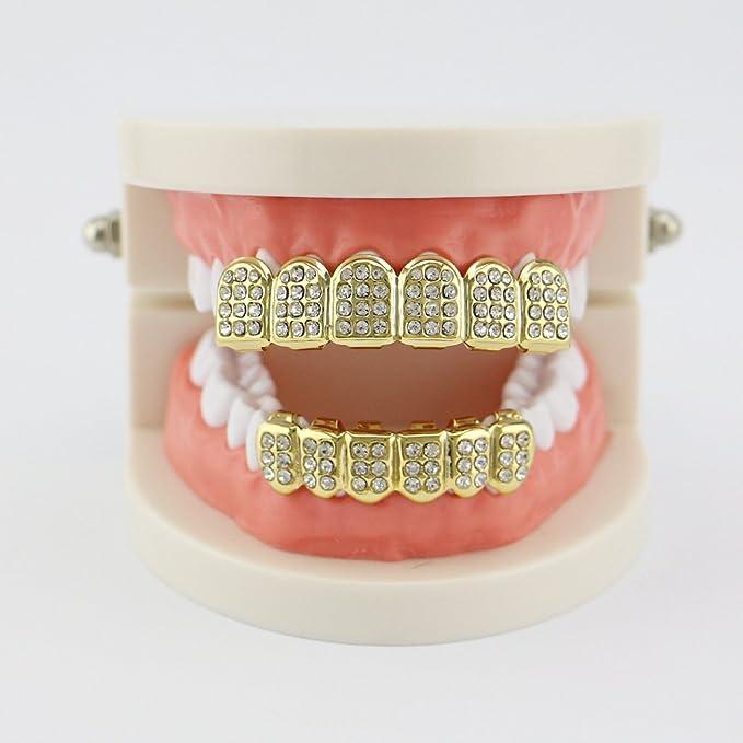 Amazon.com: YXCM - Parrilla para dientes, diseño de ...