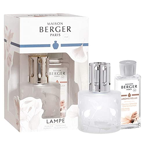 Lampe Berger Giftset – Aroma Relax – Oriental Comfort – Home Fragrance Diffuser – 10x8x6 inches – Includes Fragrance Essential Oil 180 milliliters – 6.08 Fluid Ounces