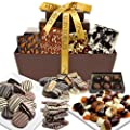 Mega Delectable Artisan Crafted Gift Basket by Chocolate Covered Company