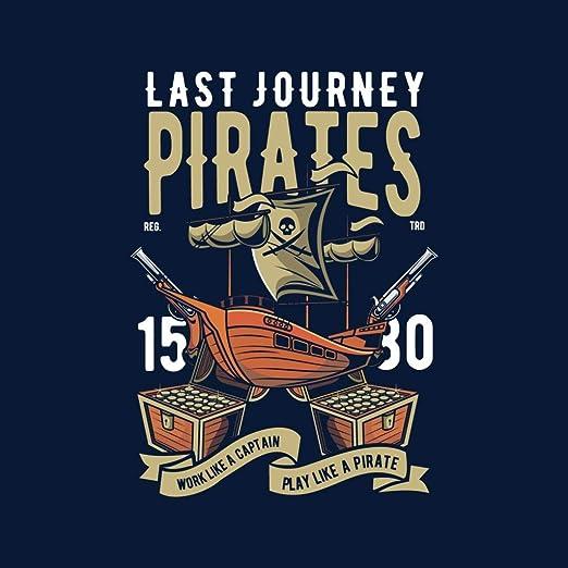Coto7 Last Journey Pirates Ship Mens Vest