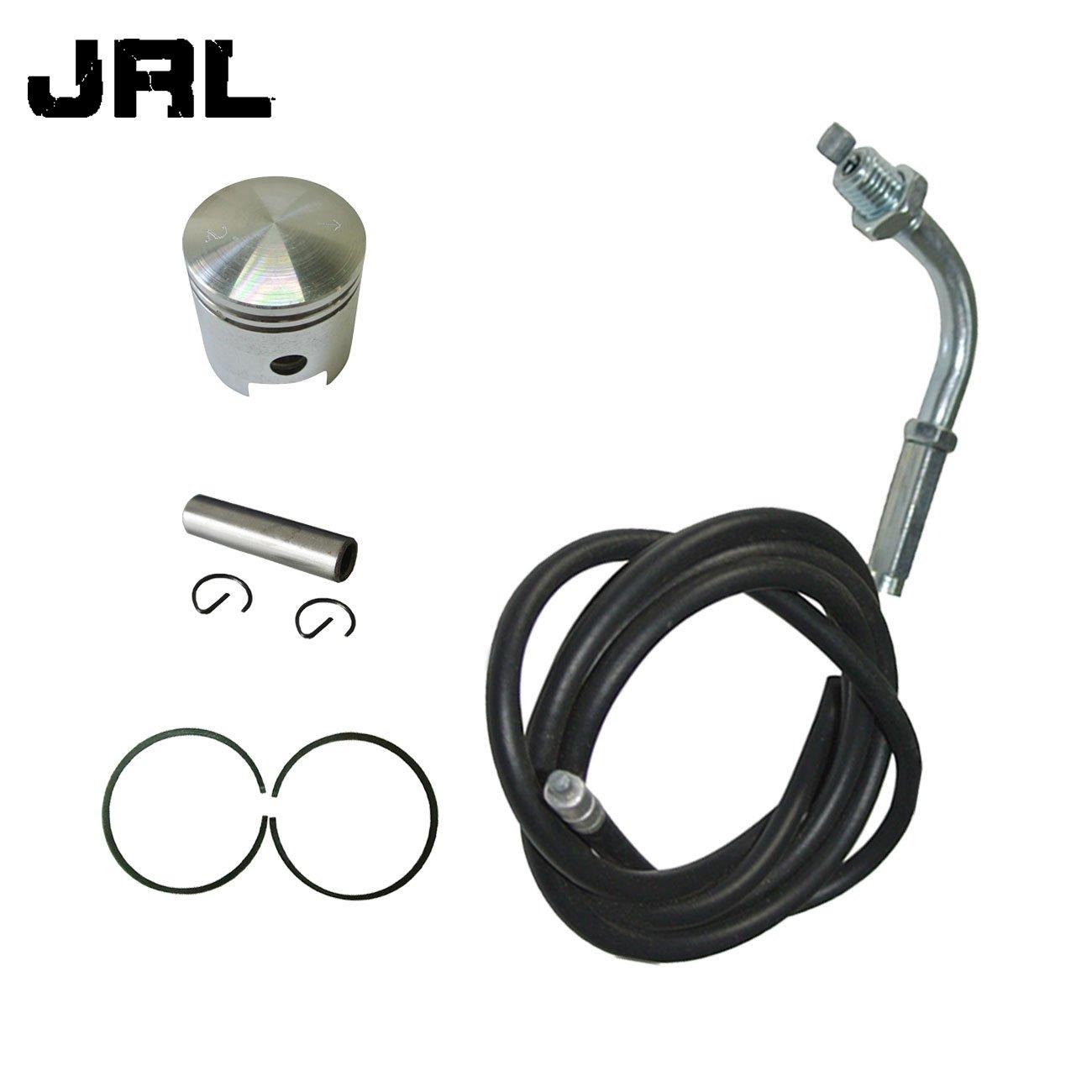 JRL Throttle Cable&Piston&2xPiston Ring&Pin For 66cc 80cc Engine Motorized Bicycle Yiwu Starlight