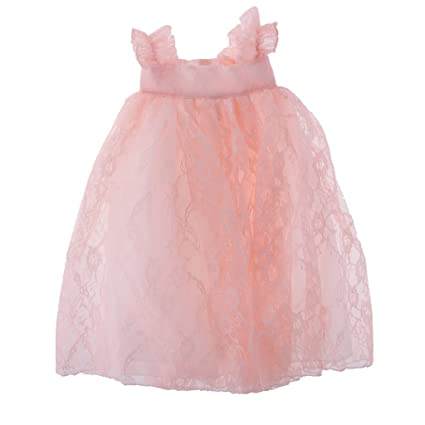 Buy Larosso Adorable Lace Princess Skirt Dress for 18   American Girl  Journey Dolls Clothing Dress Up Accessories Light Pink Online at Low Prices  in India ... 1f1687900