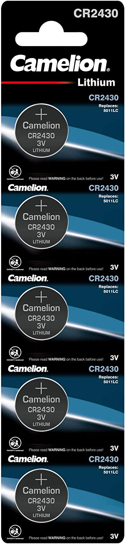 Camelion 13005430 Lithium Knopfzelle Cr2430 5er Pack Elektronik