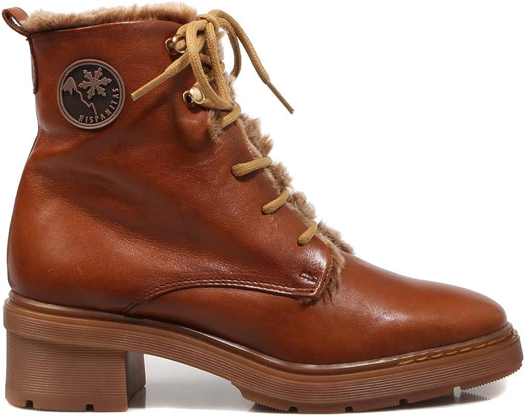 Hispanitas,99509, botín marrón para Mujer