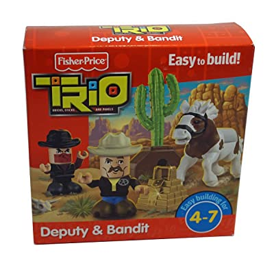 Fisher-Price Trio Deputy & Bandit: Toys & Games