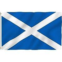 Bandera de Escocia 3x5ft / 90x150cm Bandera Nacional Grande de Escocia los desfiles Bar Escuela Deportes